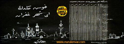 Hoşgeldin Ey Şehr-i Gufran