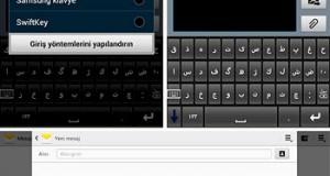 Android Cihazlara Osmanlıca Klavye Desteği