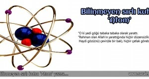 Bilinmeyen sırlı kutu: Atom