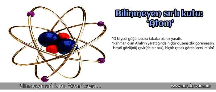 Atom İmajı