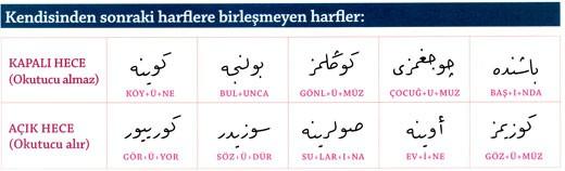 Osmanlıca Ekler 3