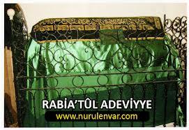 Kefenini sırtında taşıyan hanım: Rabia'tûl Adeviyye