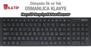 Osmanlıca klavye satışa hazır!