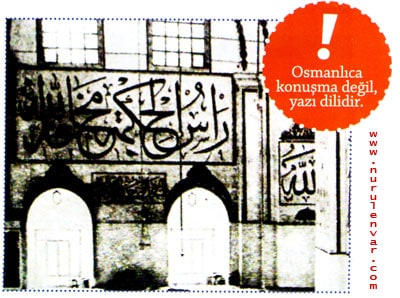 Osmanlıcada Harflerin Îlk Sesleri Alınır