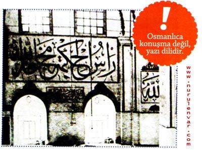 Osmanlıca Konuşma Dili temsili imaj
