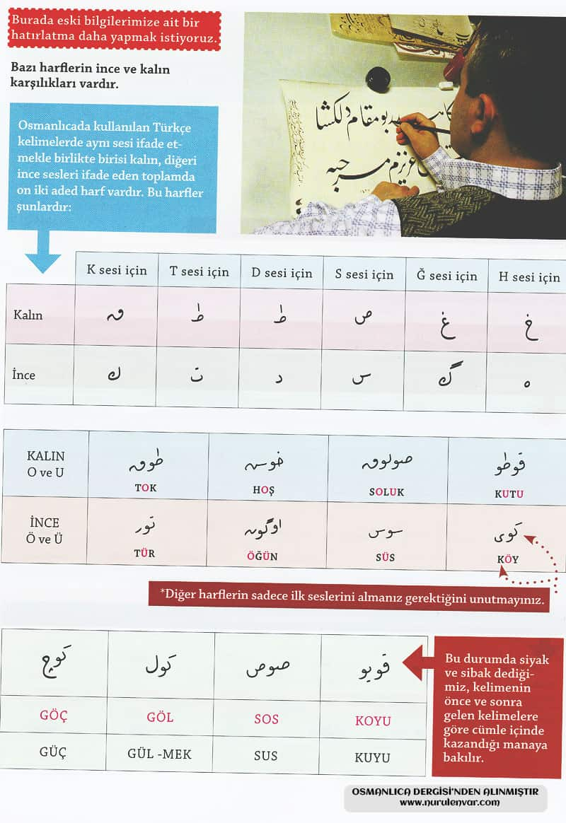 Osmanlıca Öğreniyorum 2
