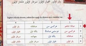 Osmanlıca şiir ve isimler