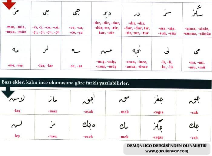 Osmanlıca Yazmak 5