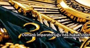 Osmanlı İmparatorluğu'nda hukuk sistemi