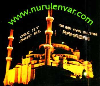 Ramazan Ayı Temsili İmaj