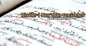 Risâle-i Nur'dan vecizeler