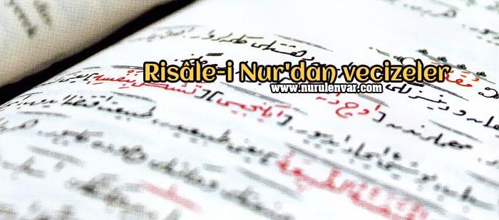 Risale-i Nur'dan vecizeler