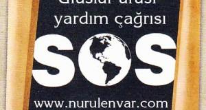 """SOS """"Ruhlarımızı Kurtarın"""" Sembolü"""